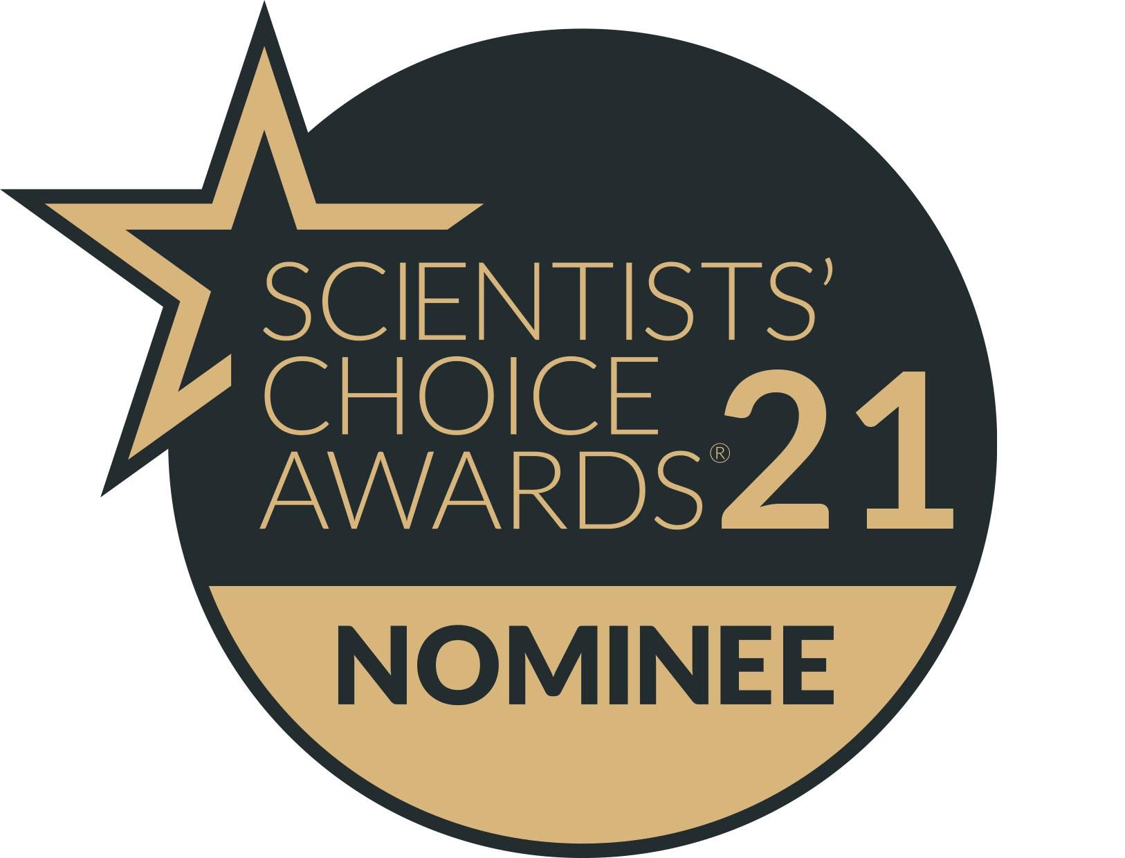 CytoSMART Lux3 FL-Scientists Choice Awads 2021-Nominee