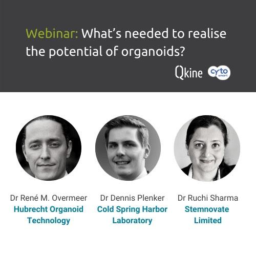 Organoid's webinar speakers